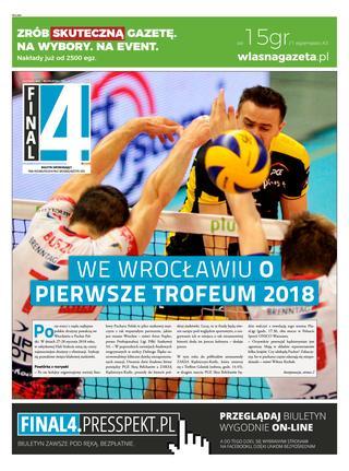 Okładka gazety final4 nr 11