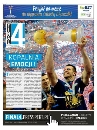 Okładka gazety final4 nr 9
